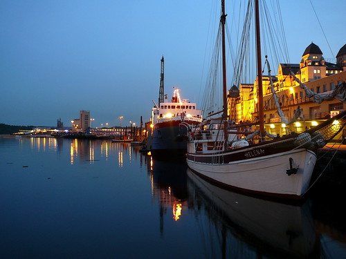 Harbour at Twilight, Oslo