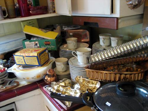 Kitchen shambles