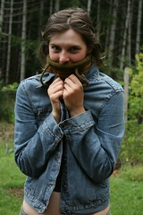 I wore this neck warmer all through the northern Canadian summer. sigh.