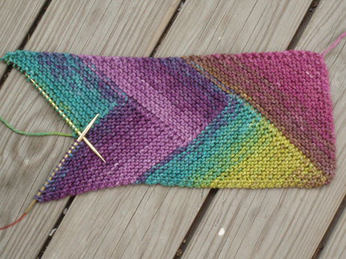 The Pioneer Braid Scarf Hither And Yarn