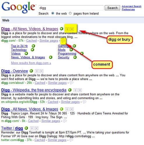 Google go digg like