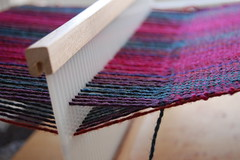 at the loom