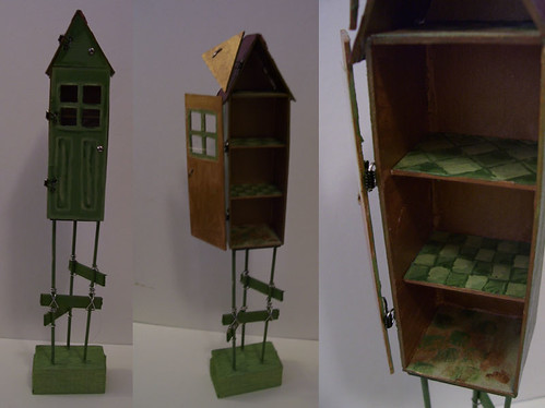 A house on stilts