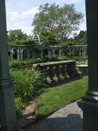 Pergola and Lily Pond