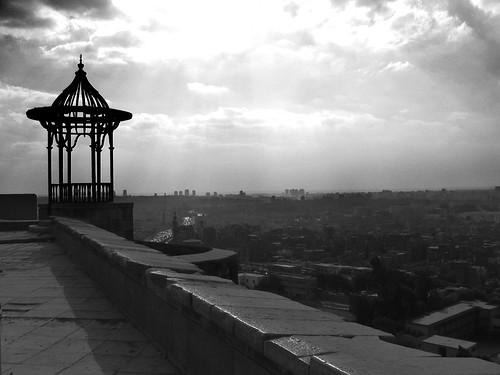 Vista de la ciudad desde la Ciudadela de Saladino