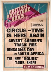 British Movietone News Poster