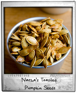 Nacha's Toasted Pumpkin Seeds