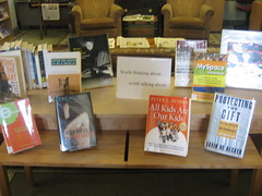 really difficult book display