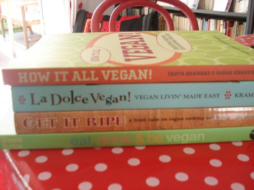vegan cookbooks by you.