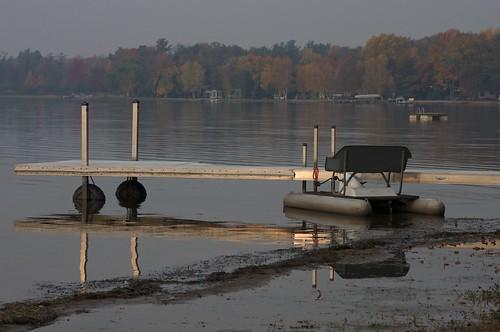 Sunrise on Lake Shawano