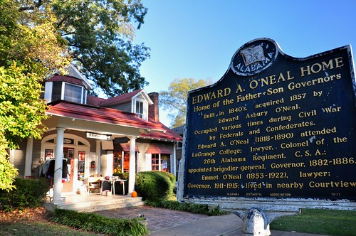 The E.A. ONeal Home in Florence, Alabama