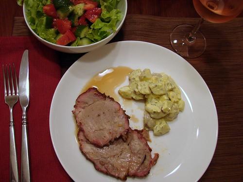Dinner:  June 28, 2008