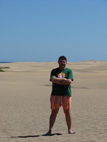 Son las dunas de Maspalomas