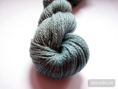 Merino-Cashsilk in Dirty Silver