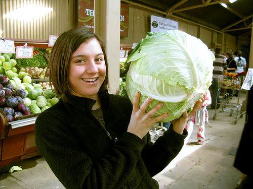 This cabbage makes regular cabbage look like brussels sprouts.