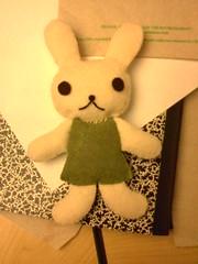 Big Felt Bunny
