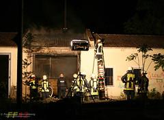 Feuer ehemaliger Bauhof 20.05.08