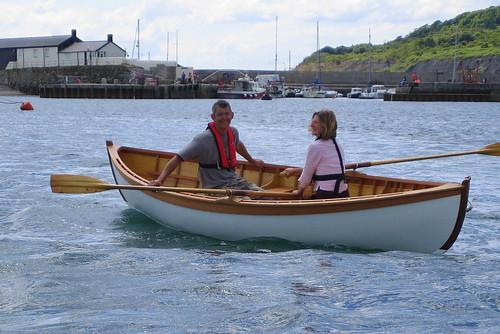 Off Lyme Regis harbour