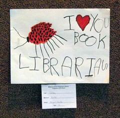 I *heart* you book librarian
