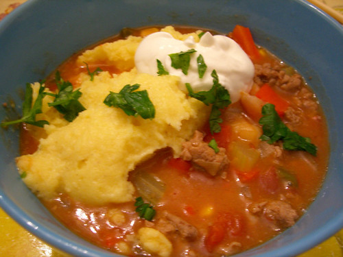 turkey chili polenta sc