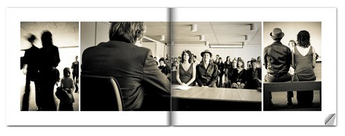 Wedding book layout (by Tom Leuntjens Photography)