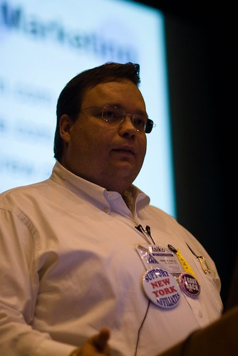 Haiko de Poel, Jr. at Affiliate Summit East 2008