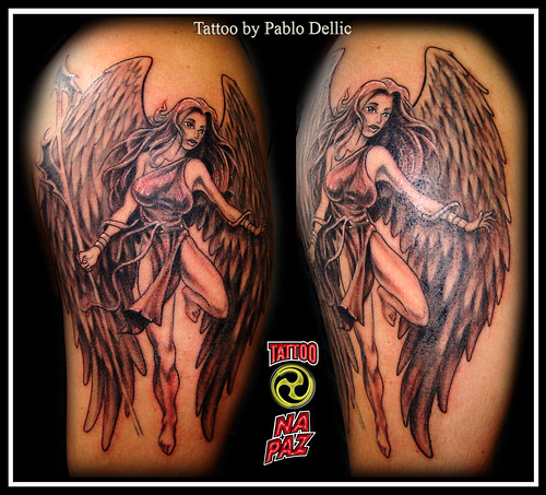The Angel tattoos are probably one of the most requested tattoo designs