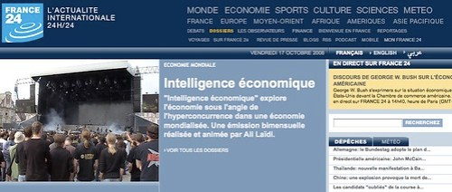 France 24 intelligence economique by you.