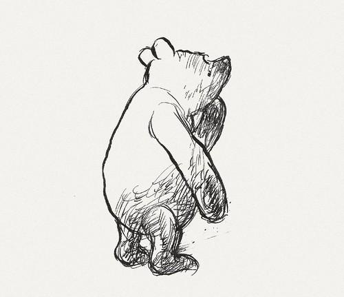 BibliOdyssey: Original Winnie The Pooh Drawings