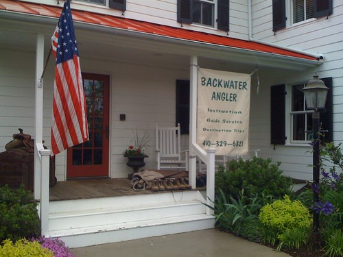 Backwater Angler Side Porch