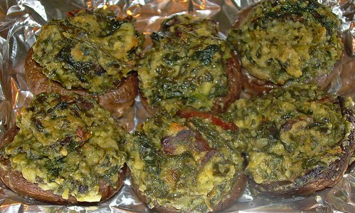 Stuffed Mushrooms Redux
