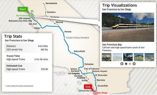 California High Speed Rail Authority Interactive Map