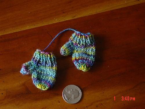 Mini-mittens for swap