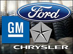 Ford, GM, Chrysler