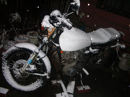 Moto en Saint Marks Place