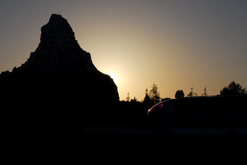 matterhorn at sunset