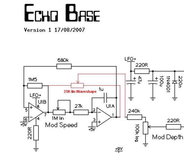 Simple Echo Circuit