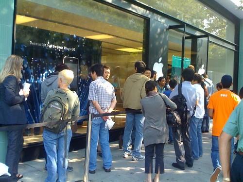 Apple Store in Palo Alto, CA