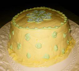 (Kind of) Lavender Lemon and (Kind of) Honey Cake