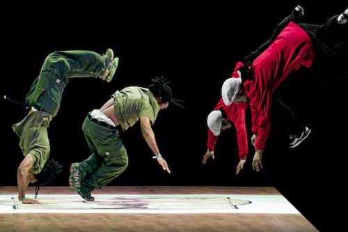 Fall - part of Cut-Ups (bad fall) exhibition - hip hop dance