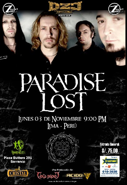 Paradise Lost Poster - Lima
