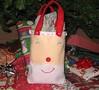 Smiling Santa Gift Bag Tutorial