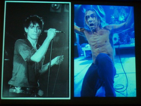 Iggy Pop, decades apart by bev. davies & KK at NV09