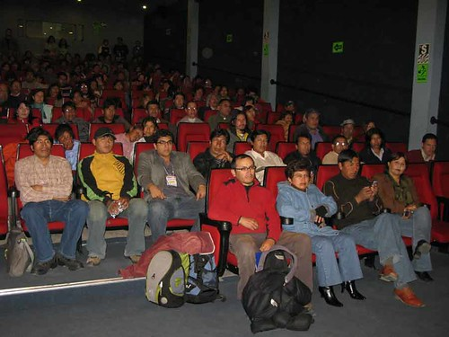 Tercer d�a, Encuentro de Cine Andino