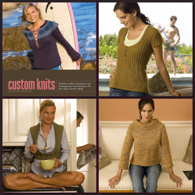 Collage of Custom Knits by ScoutJ