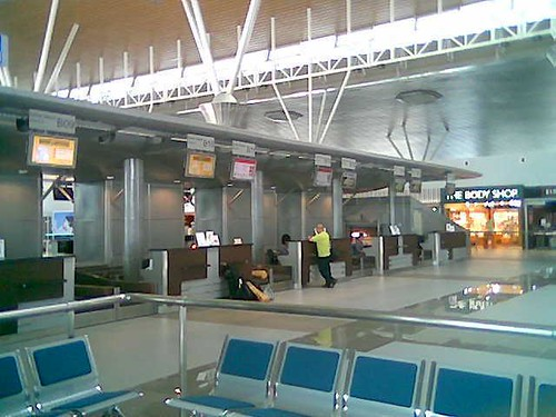 KK International Airport check-in
