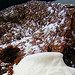 Fallen Chocolate Cake with Rum Caramel Sauce, MyLastBite.com