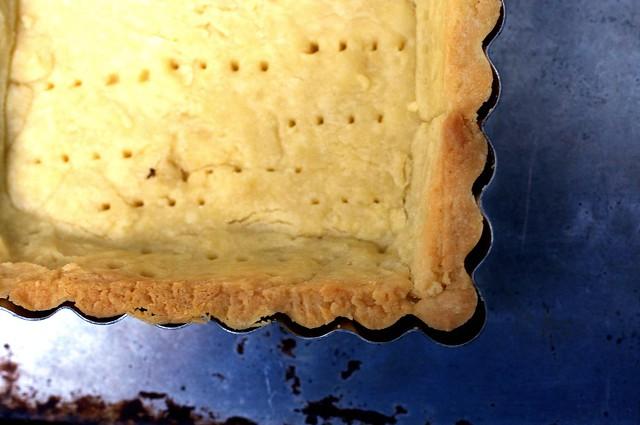 rectangular tart shell