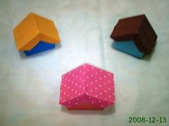 Origami Casinha - Foto de Noêmia