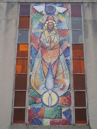 Modernist tile mosaic